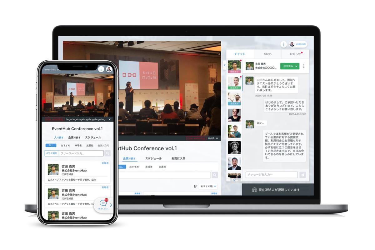 EventHubサービス画面